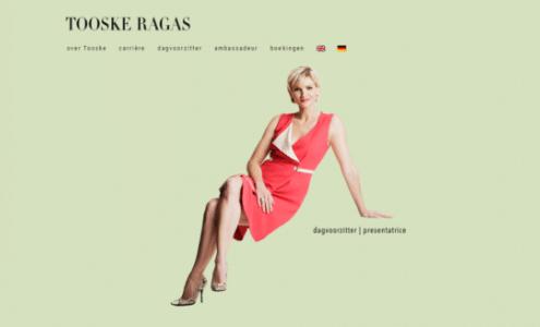 Tooske Ragas is presentatrice in het Engels Duits Nederlands