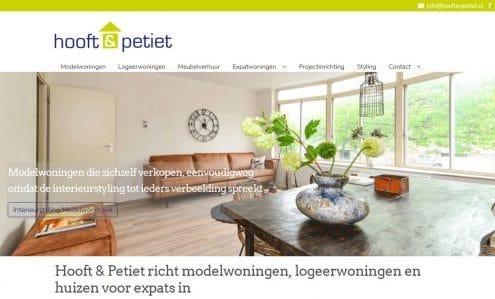 Hooft en Petiet interieurstyling modelwoningen meubelverhuur expats