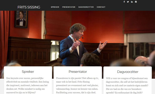 Frits Sissing website