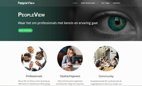 PeopleView 50+ recruitmentbureau